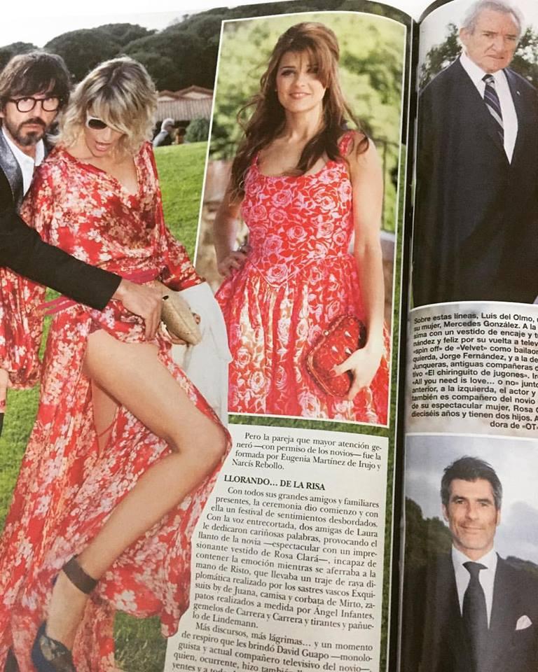 """Virginia Maestro """"Revista HOLA"""""""
